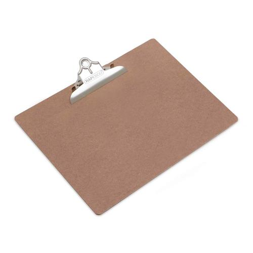 Image for Rapesco Hardboard Clipboard A3 Brown RMCA3001