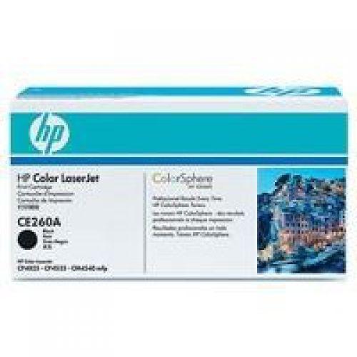 HP CE260A 647A Black Toner 8.5K