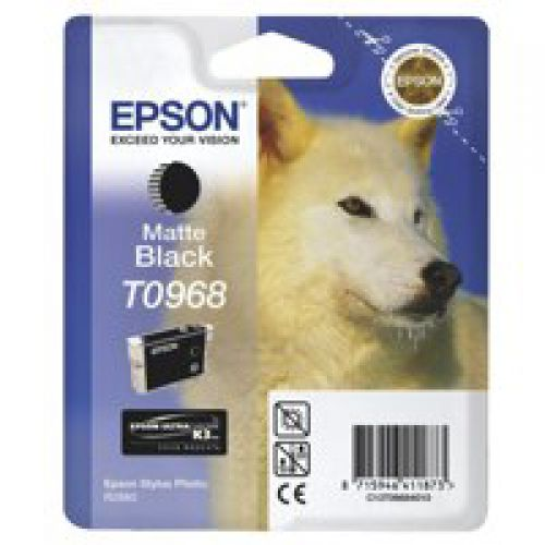 Epson C13T09684010 T0968 Matte Black Ink 11ml