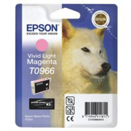 Epson C13T09664010 T0966 Vivid Light Magenta Ink 11ml