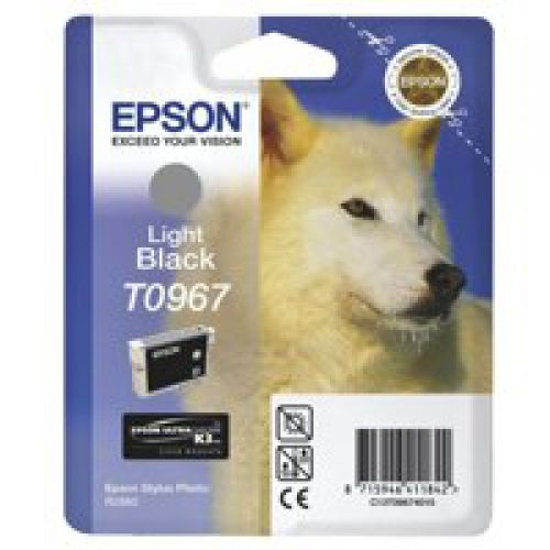 Epson C13T09674010 T0967 Light Black Ink 11ml