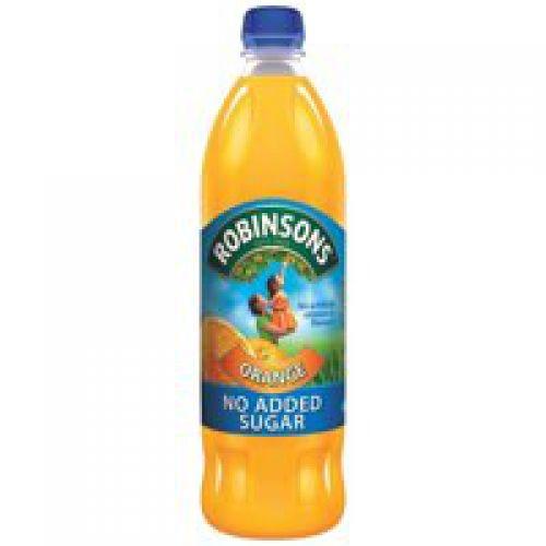 Robinsons Squash No Added Sugar 1 Litre Orange Pack 12