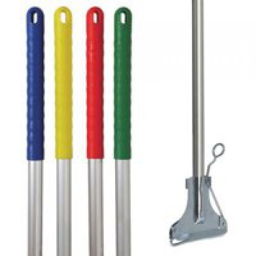Charles Bentley Kentucky Mop Handle & Clip Yellow