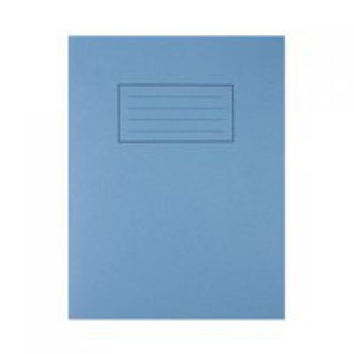 Silvine 9x7 Exercise Book Ruled Blue PK10
