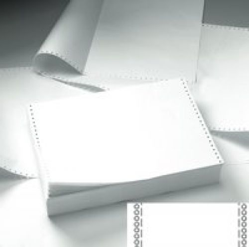 Value Listing Paper 11x241 2 Part NCR Plain Microperforated BX1000