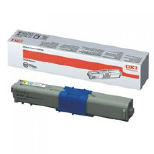 OKI 44469704 Yellow Toner 2K