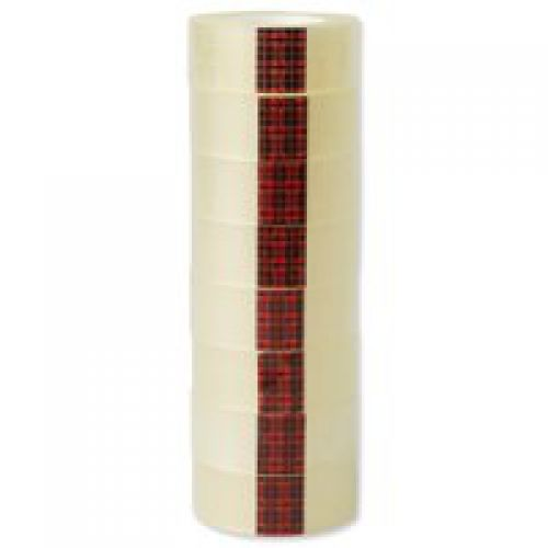 Scotch Easy Tear Clear Tape Roll 19mmx33m PK8