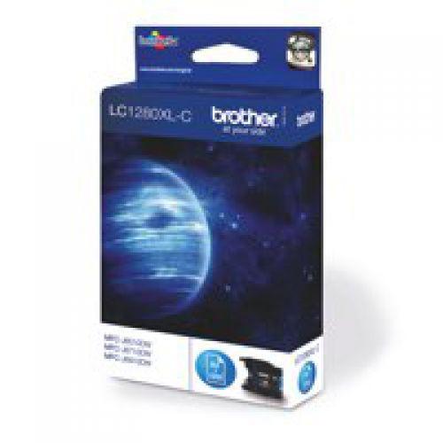 Brother LC1280XLC Cyan Ink 13ml