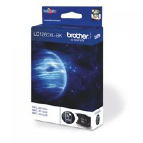 Brother LC1280XLBK Black Ink 55ml