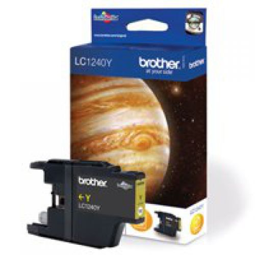 Brother LC1240Y Yellow Ink 7ml