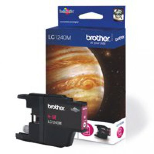 Brother LC1240M Magenta Ink 7ml