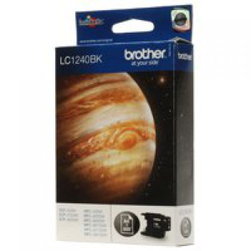 Brother LC1240BK Black Ink 14ml