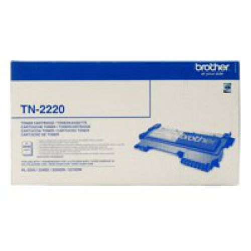 Brother TN2220 Black Toner 2.6K