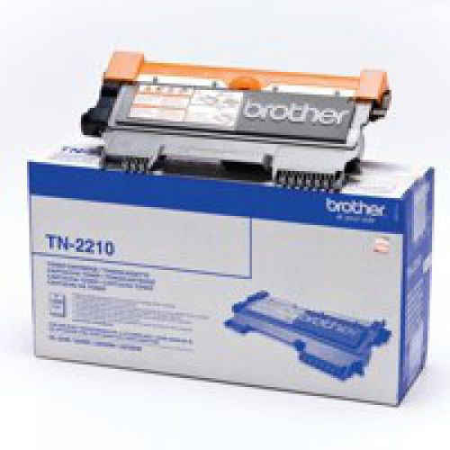 Brother TN2210 Black Toner 1.2K