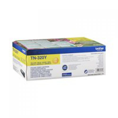 Brother TN320Y Yellow Toner 1.5K