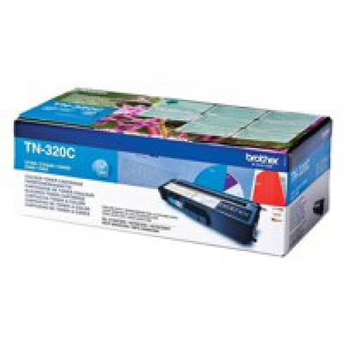 Brother TN320C Cyan Toner 1.5K