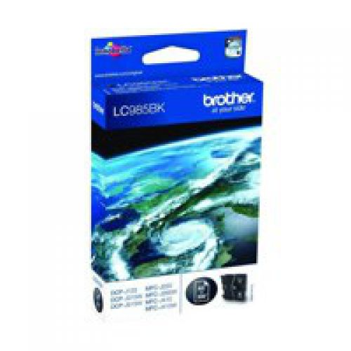 Brother LC985BK Black Ink 9ml