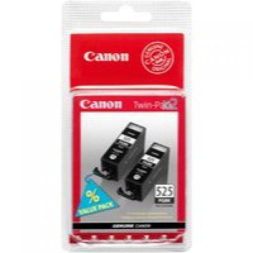 Canon 4529B010 PGI525 Black Ink 19ml Twinpack