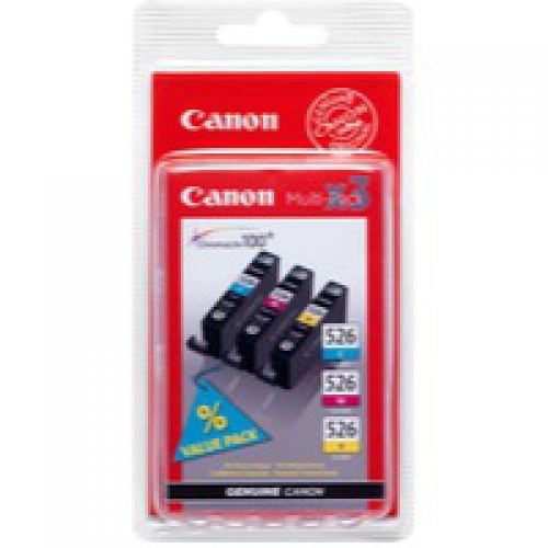 Canon 4541B009 CLI526 CMY Ink 3x9ml Multipack