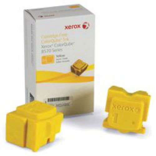 Xerox 108R00933 Yellow Solid Ink 4.4K Twin Pack