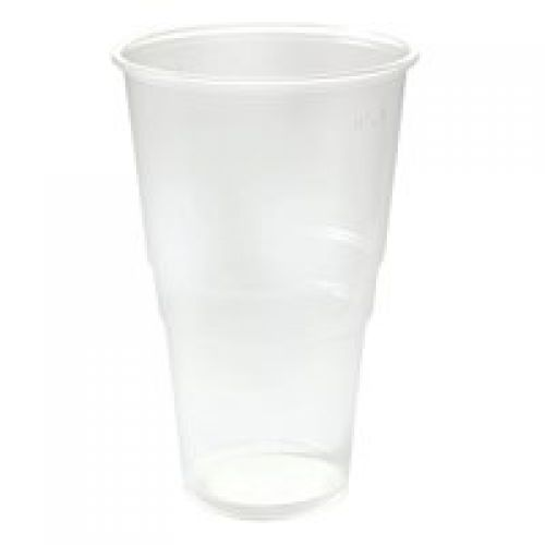 Value Flexiglass 1 Pint Clear Plastic Glass (Pack 50)