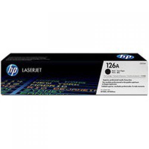 HP CE310A 126A Black Toner 1.2K
