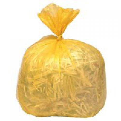 Refuse Sack 100gm Yellow Pack of 200 Code 0863