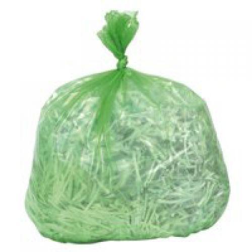 Refuse Sack 100gm Green Pack of 200 Code 0862
