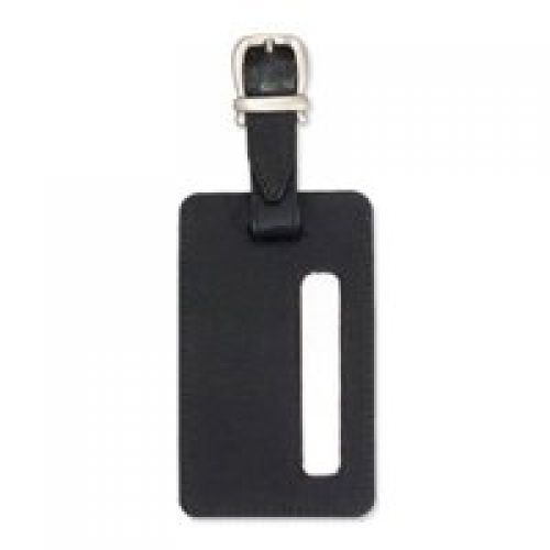 JSA Address Luggage Tag 115x70mm Black