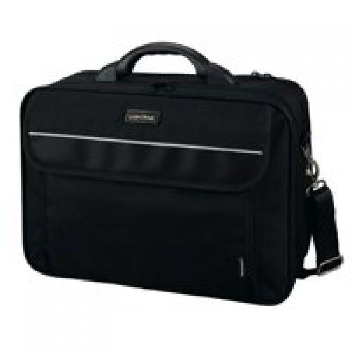 Lightpak ARCO Laptop Bag Padded Nylon 17in Black