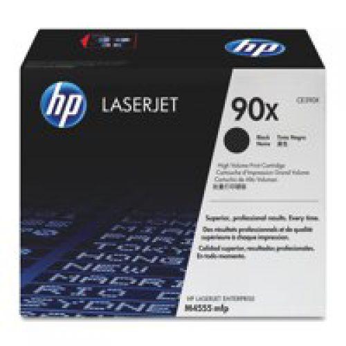 HP CE390X 90X Black Toner 24K