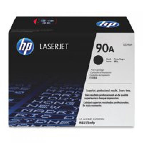 HP CE390A 90A Black Toner 10K