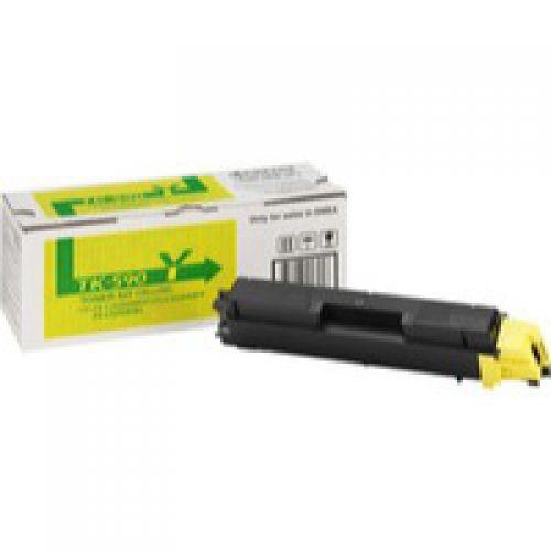 Kyocera 1T02KVANL0 TK590Y Yellow Toner 5K