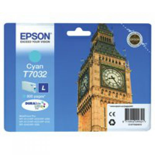 Epson C13T70324010 T7032 Cyan Ink 10ml