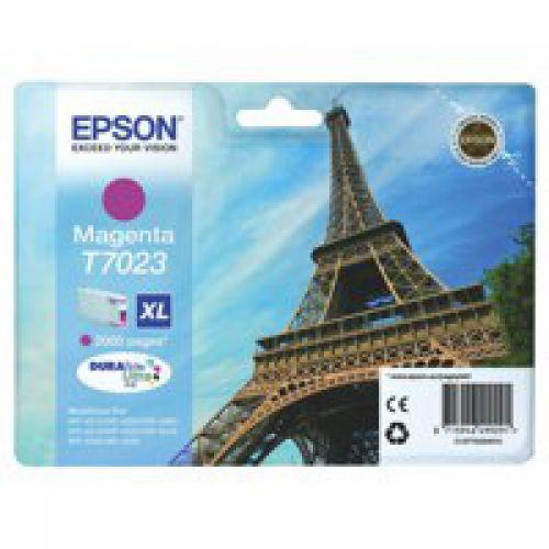 Epson C13T70234010 T7023 Magenta Ink 21ml
