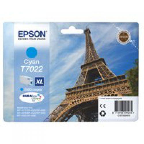 Epson C13T70224010 T7022 Cyan Ink 21ml