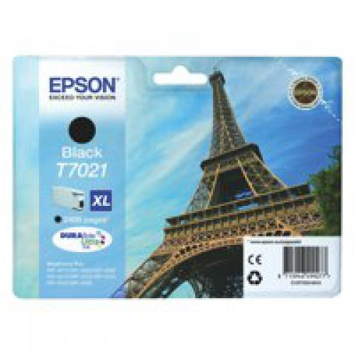 Epson C13T70214010 T7021 Black Ink 45ml