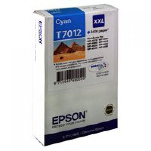 Epson C13T70124010 T7012 Cyan Ink 34ml