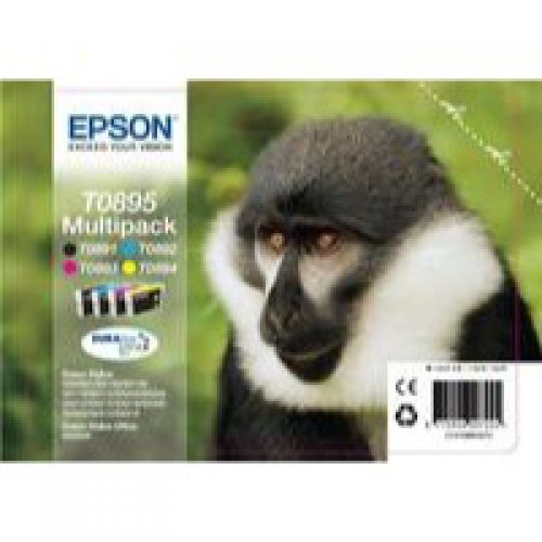 Epson C13T08954010 T0895 Black Colour Ink 6ml 3x3.5ml Multi