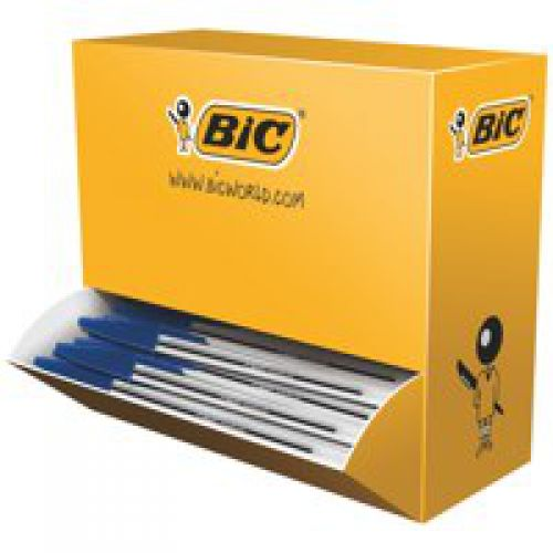 Bic Cristal Ball Pen Medium 1.0mm Blue PK100