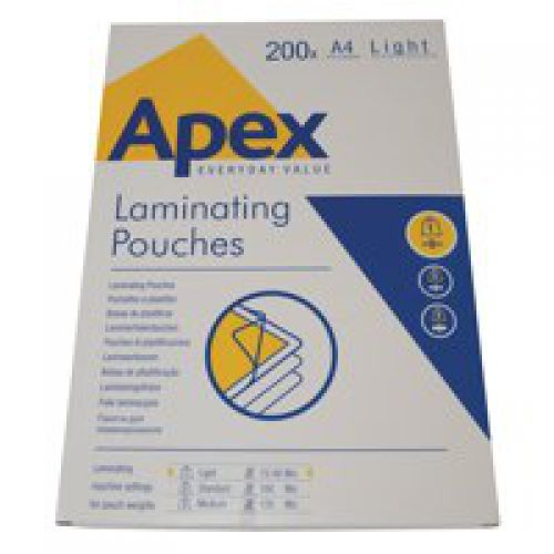 ValueX Laminating Pouch A4 2x75mu 6005301 (PK200)