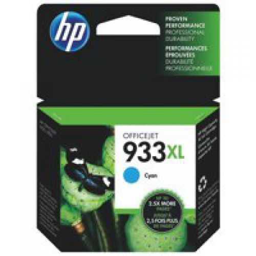 HP CN054AE 933XL Cyan Ink 9ml