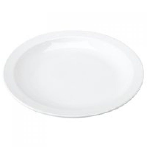 White 250mm Porcelain Plate Pk6