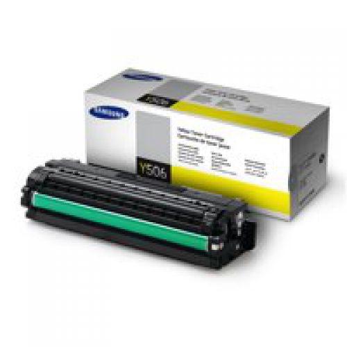 Samsung CLT Y506S Yellow Toner 1.5K