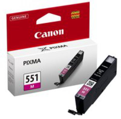 Canon 6510B001 CLI551 Magenta Ink 7ml