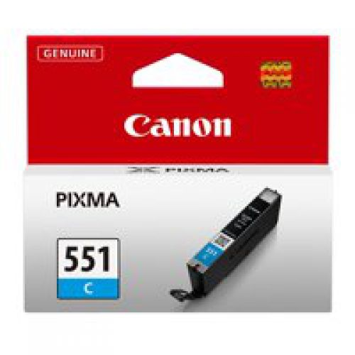 Canon 6509B001 CLI551 Cyan Ink 7ml