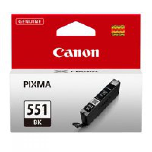 Canon 6508B001 CLI551 Black Ink 7ml
