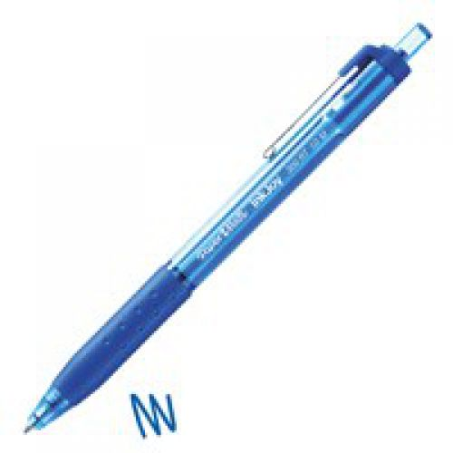 Paper Mate InkJoy 300 Retractable Ball Pen 1.0mm Tip BL PK12