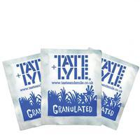 Tate & Lyle White Granulated Sugar Sachets (Pack 1000) 410774