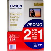 EPSON PREM GLOSS PHOTO PPR A4 PK15 2FOR1